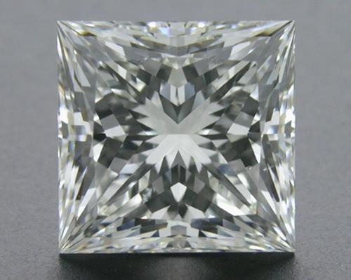 3.074 ct I SI1 A CUT ABOVE® Princess Super Ideal Cut Diamond