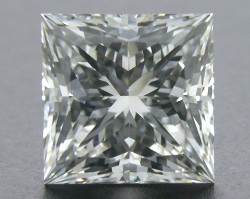 0.74 ct H VS2 A CUT ABOVE® Princess Super Ideal Cut Diamond