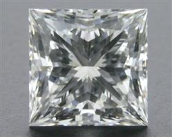 1.054 ct G SI1 A CUT ABOVE® Princess Super Ideal Cut Diamond