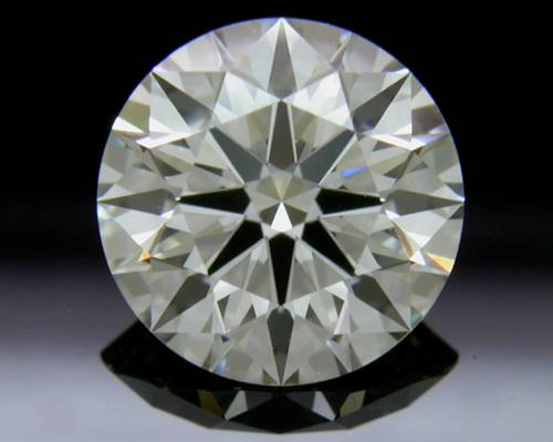 1.597 ct J VS1 A CUT ABOVE® Hearts and Arrows Super Ideal Round Cut Loose Diamond