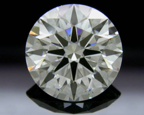 1.247 ct I SI1 A CUT ABOVE® Hearts and Arrows Super Ideal Round Cut Loose Diamond