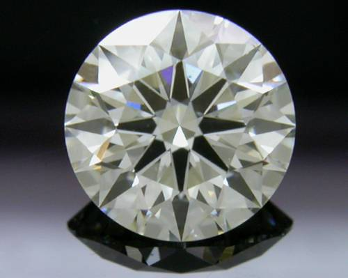 1.064 ct J SI1 A CUT ABOVE® Hearts and Arrows Super Ideal Round Cut Loose Diamond