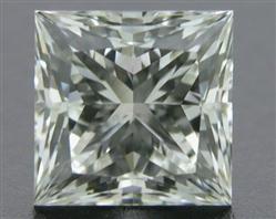 0.533 ct J VS2 A CUT ABOVE® Princess Super Ideal Cut Diamond