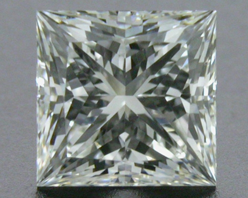 0.726 ct F SI1 A CUT ABOVE® Princess Super Ideal Cut Diamond