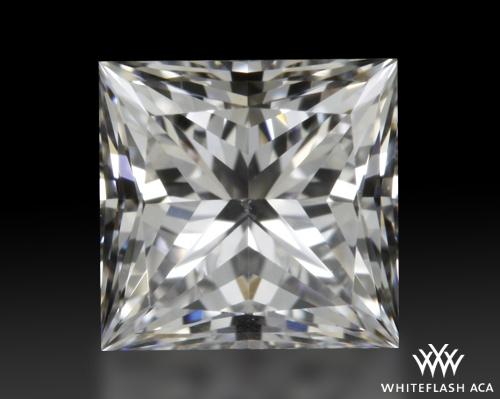 0.522 ct E VS1 A CUT ABOVE® Princess Super Ideal Cut Diamond