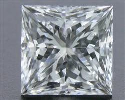 0.516 ct F SI1 Expert Selection Princess Cut Loose Diamond