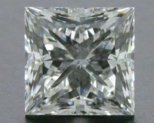 0.716 ct I VS2 A CUT ABOVE® Princess Super Ideal Cut Diamond