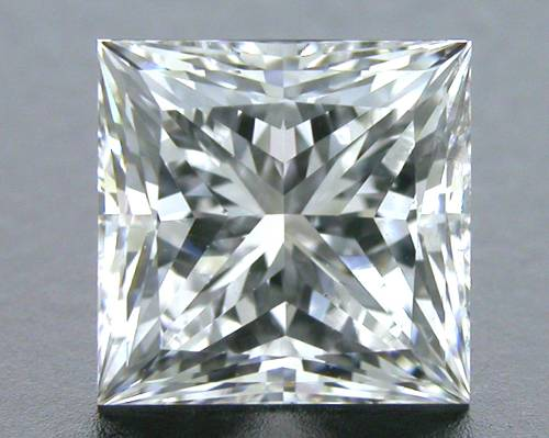 1.011 ct D VS2 A CUT ABOVE® Princess Super Ideal Cut Diamond