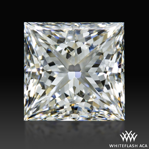 0.60 ct H VS1 A CUT ABOVE® Princess Super Ideal Cut Diamond