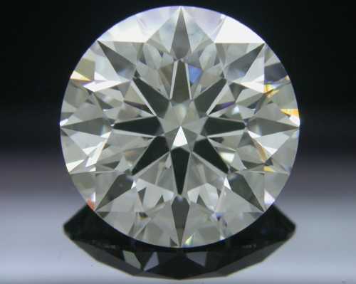 2.41 ct I SI1 A CUT ABOVE® Hearts and Arrows Super Ideal Round Cut Loose Diamond