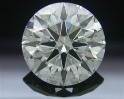 2.293 ct J SI1 A CUT ABOVE® Hearts and Arrows Super Ideal Round Cut Loose Diamond