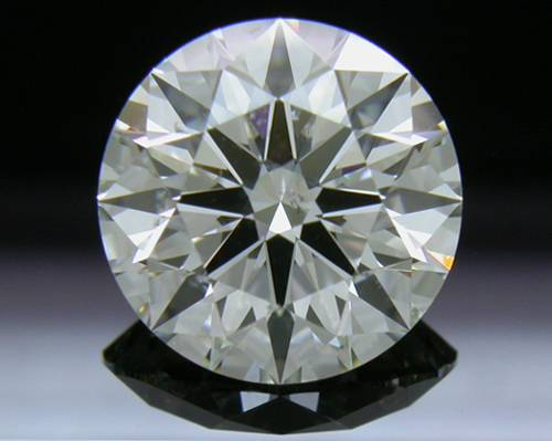 2.288 ct J SI2 A CUT ABOVE® Hearts and Arrows Super Ideal Round Cut Loose Diamond