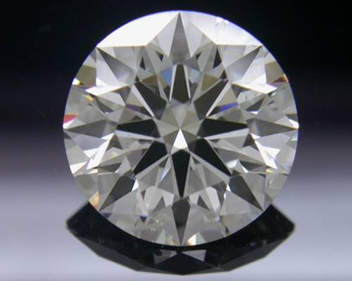 1.523 ct H SI2 A CUT ABOVE® Hearts and Arrows Super Ideal Round Cut Loose Diamond