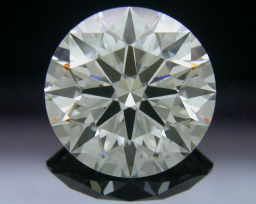1.596 ct J SI1 A CUT ABOVE® Hearts and Arrows Super Ideal Round Cut Loose Diamond