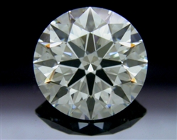 1.56 ct J SI1 A CUT ABOVE® Hearts and Arrows Super Ideal Round Cut Loose Diamond