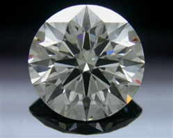1.204 ct J VS2 A CUT ABOVE® Hearts and Arrows Super Ideal Round Cut Loose Diamond