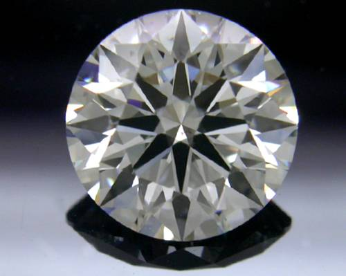 1.073 ct F SI1 A CUT ABOVE® Hearts and Arrows Super Ideal Round Cut Loose Diamond