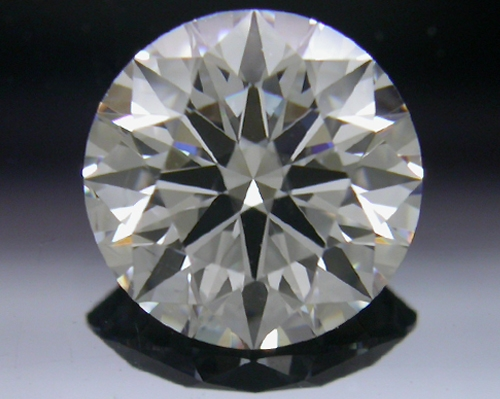 1.067 ct F SI1 A CUT ABOVE® Hearts and Arrows Super Ideal Round Cut Loose Diamond