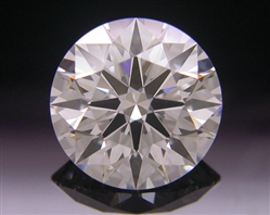 1.057 ct G VS2 A CUT ABOVE® Hearts and Arrows Super Ideal Round Cut Loose Diamond