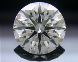 1.122 ct G VS2 A CUT ABOVE® Hearts and Arrows Super Ideal Round Cut Loose Diamond