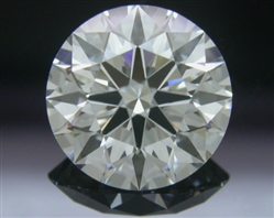 1.266 ct G SI1 A CUT ABOVE® Hearts and Arrows Super Ideal Round Cut Loose Diamond