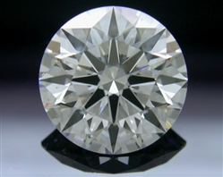 1.236 ct G SI1 A CUT ABOVE® Hearts and Arrows Super Ideal Round Cut Loose Diamond