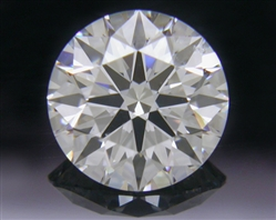 1.117 ct G SI1 A CUT ABOVE® Hearts and Arrows Super Ideal Round Cut Loose Diamond
