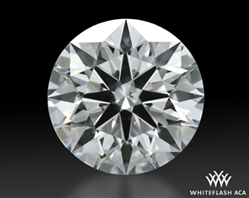 1.062 ct H SI2 A CUT ABOVE® Hearts and Arrows Super Ideal Round Cut Loose Diamond