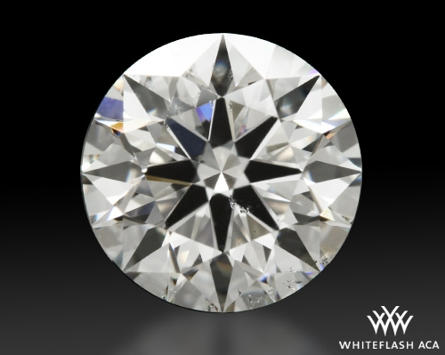 1.127 ct H SI2 A CUT ABOVE® Hearts and Arrows Super Ideal Round Cut Loose Diamond