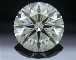 1.254 ct H SI1 A CUT ABOVE® Hearts and Arrows Super Ideal Round Cut Loose Diamond
