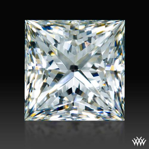0.595 ct H VS1 A CUT ABOVE® Princess Super Ideal Cut Diamond