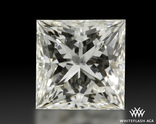 1.041 ct H VS1 A CUT ABOVE® Princess Super Ideal Cut Diamond