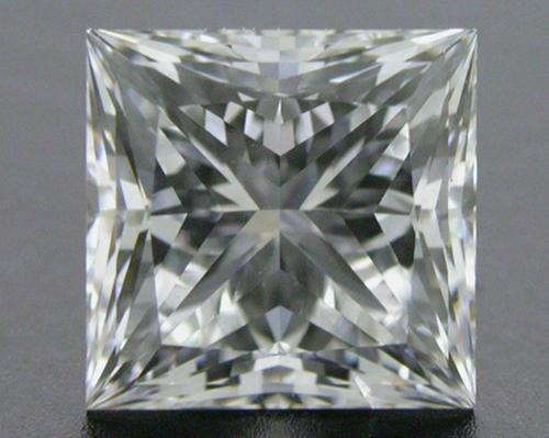 1.032 ct E SI1 A CUT ABOVE® Princess Super Ideal Cut Diamond