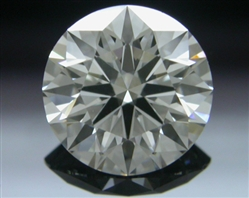 0.811 ct H VVS2 A CUT ABOVE® Hearts and Arrows Super Ideal Round Cut Loose Diamond