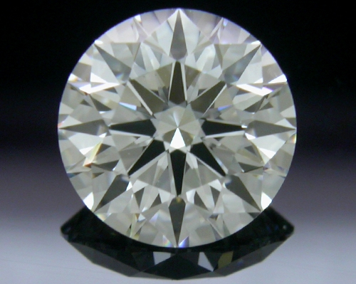 0.808 ct H VVS1 A CUT ABOVE® Hearts and Arrows Super Ideal Round Cut Loose Diamond