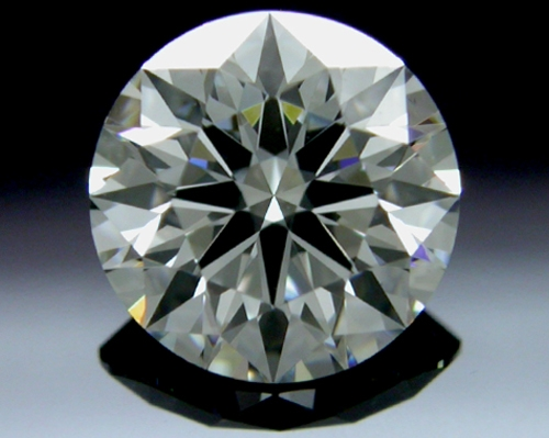 0.761 ct H VS2 A CUT ABOVE® Hearts and Arrows Super Ideal Round Cut Loose Diamond