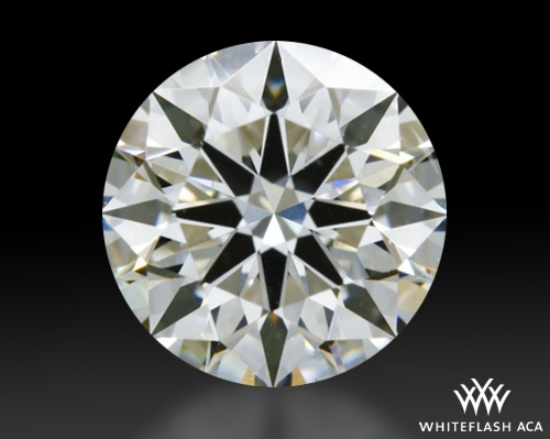 0.756 ct H VS2 A CUT ABOVE® Hearts and Arrows Super Ideal Round Cut Loose Diamond