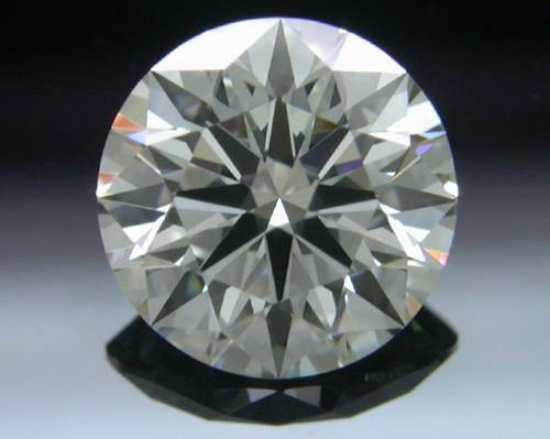 0.725 ct H VVS2 A CUT ABOVE® Hearts and Arrows Super Ideal Round Cut Loose Diamond