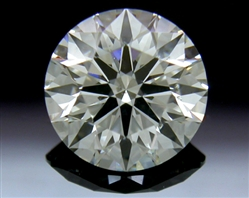 1.073 ct I SI2 A CUT ABOVE® Hearts and Arrows Super Ideal Round Cut Loose Diamond
