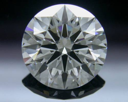 1.156 ct G SI1 A CUT ABOVE® Hearts and Arrows Super Ideal Round Cut Loose Diamond
