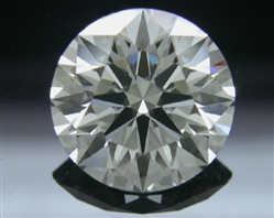 1.57 ct I SI1 A CUT ABOVE® Hearts and Arrows Super Ideal Round Cut Loose Diamond