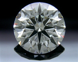 1.216 ct F SI1 A CUT ABOVE® Hearts and Arrows Super Ideal Round Cut Loose Diamond