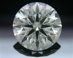 1.23 ct H SI1 A CUT ABOVE® Hearts and Arrows Super Ideal Round Cut Loose Diamond