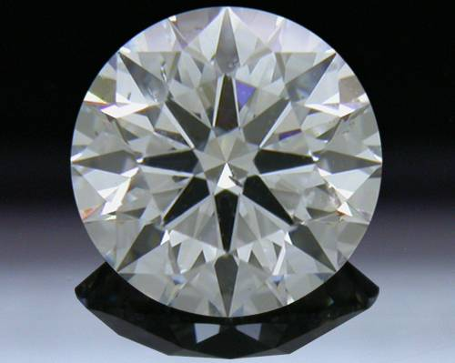 1.053 ct G SI1 A CUT ABOVE® Hearts and Arrows Super Ideal Round Cut Loose Diamond