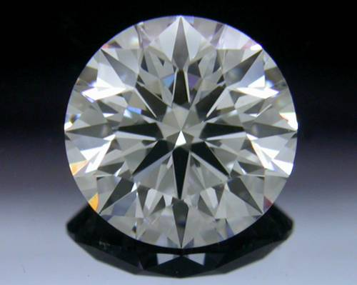 0.817 ct F VS1 A CUT ABOVE® Hearts and Arrows Super Ideal Round Cut Loose Diamond