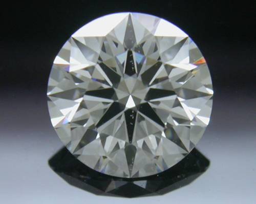 0.825 ct F SI1 A CUT ABOVE® Hearts and Arrows Super Ideal Round Cut Loose Diamond