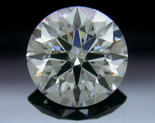 0.763 ct E SI2 A CUT ABOVE® Hearts and Arrows Super Ideal Round Cut Loose Diamond