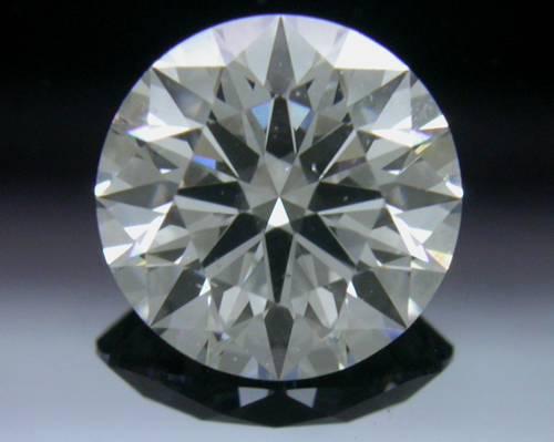 0.765 ct E SI1 A CUT ABOVE® Hearts and Arrows Super Ideal Round Cut Loose Diamond