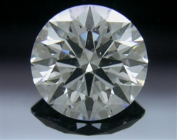 0.765 ct E SI1 A CUT ABOVE® Hearts and Arrows Super Ideal Round Cut Loose Diamond