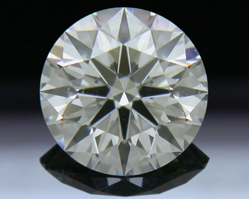 0.756 ct F SI1 A CUT ABOVE® Hearts and Arrows Super Ideal Round Cut Loose Diamond